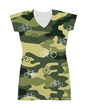 Cycling Camouflage  All-over Dress front