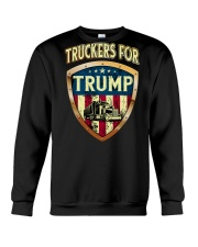 Truckers for Trump Crewneck Sweatshirt thumbnail