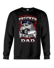 The most important call me dad Crewneck Sweatshirt thumbnail