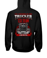 BEST T-SHIRT FOR TRUCKER Hooded Sweatshirt thumbnail