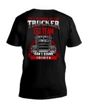 BEST T-SHIRT FOR TRUCKER V-Neck T-Shirt thumbnail