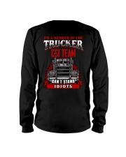 BEST T-SHIRT FOR TRUCKER Long Sleeve Tee thumbnail
