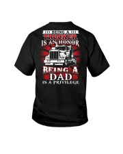 Being a trucker is an honor Youth T-Shirt thumbnail