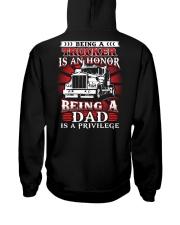 Being a trucker is an honor Hooded Sweatshirt thumbnail