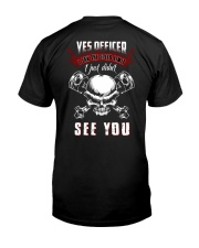 BEST T-SHIRT FOR BIKER Classic T-Shirt back