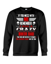 BEST T-SHIRT FOR BIKER'S DAUGHTER Crewneck Sweatshirt thumbnail