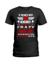 BEST T-SHIRT FOR BIKER'S DAUGHTER Ladies T-Shirt thumbnail
