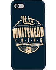 WHITEHEAD Phone Case thumbnail