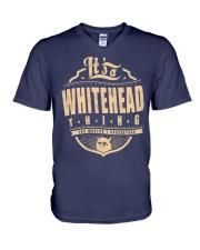 WHITEHEAD V-Neck T-Shirt thumbnail
