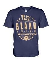 BEARD V-Neck T-Shirt thumbnail