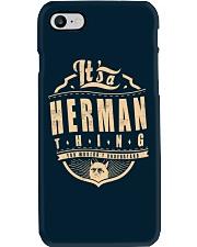HERMAN THING Phone Case thumbnail