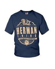 HERMAN THING Youth T-Shirt thumbnail