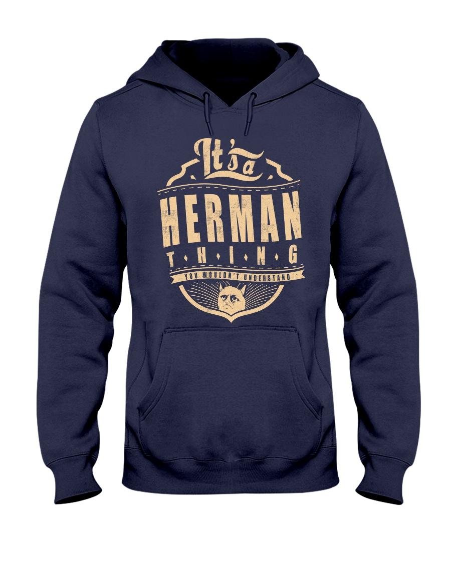 HERMAN THING Hooded Sweatshirt