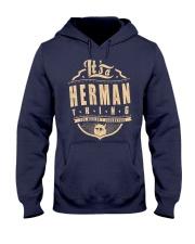 HERMAN THING Hooded Sweatshirt front