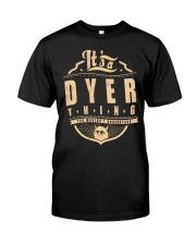 DYER Classic T-Shirt thumbnail