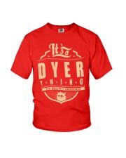 DYER Youth T-Shirt thumbnail