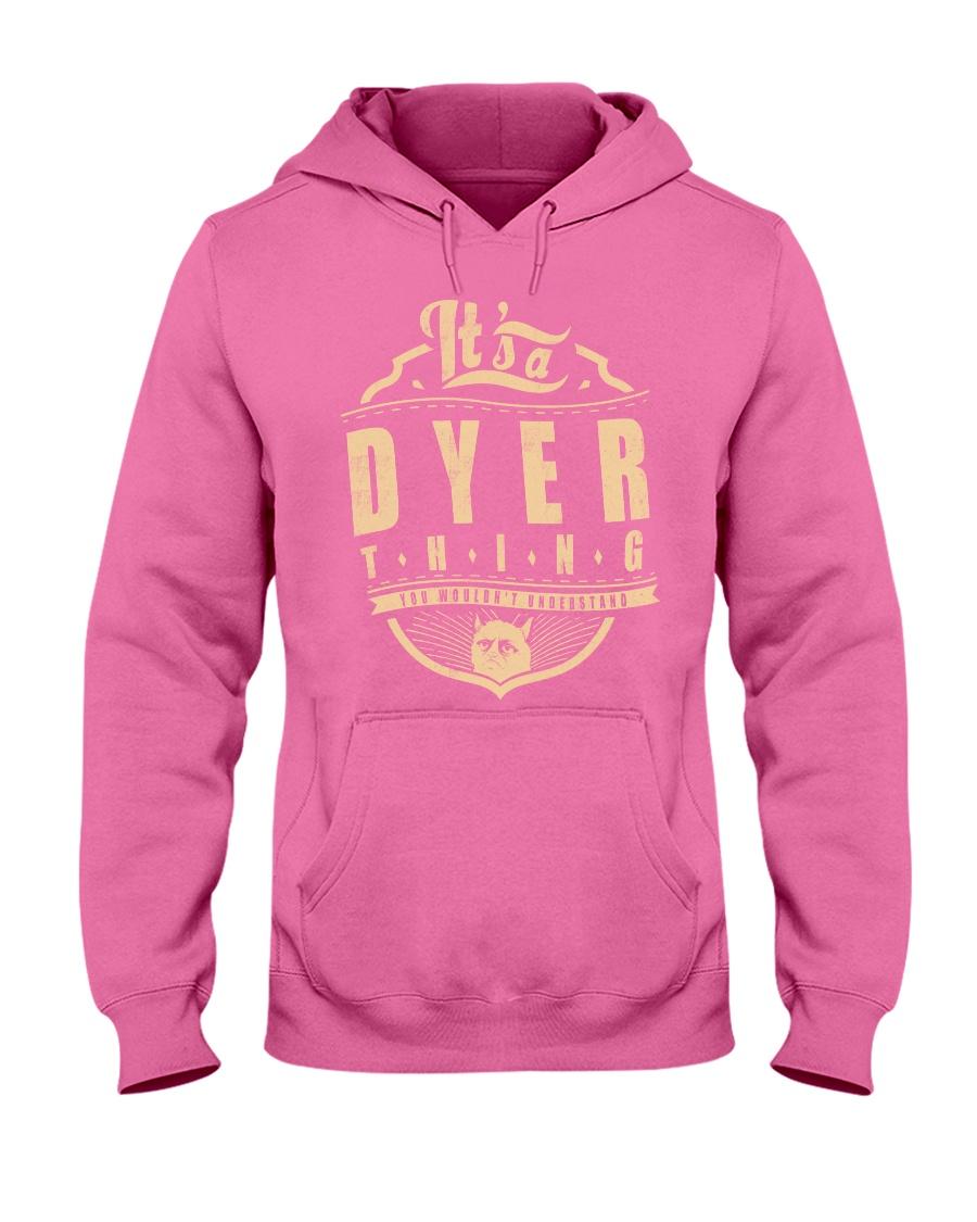 DYER Hooded Sweatshirt