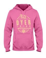DYER Hooded Sweatshirt front