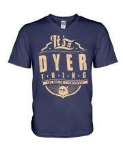 DYER V-Neck T-Shirt thumbnail
