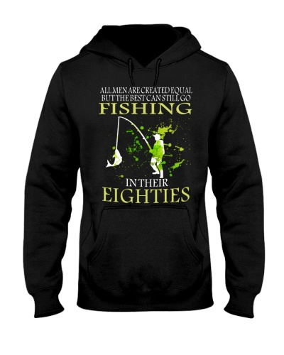Fishing all men are created equal Eighties PT