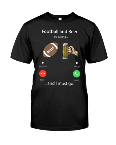 Football And Beer Are Calling