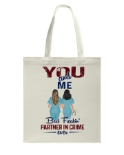 You and me - Nursing partner in crime Tote Bag thumbnail
