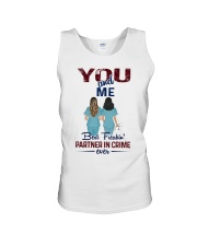 You and me - Nursing partner in crime Unisex Tank thumbnail