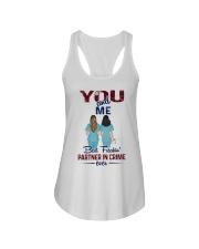 You and me - Nursing partner in crime Ladies Flowy Tank thumbnail