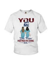 You and me - Nursing partner in crime Youth T-Shirt thumbnail