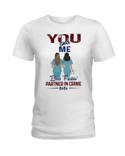 You and me - Nursing partner in crime Ladies T-Shirt thumbnail