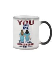 You and me - Nursing partner in crime Color Changing Mug thumbnail