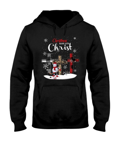 Christmas Begin With Christ - Hockey