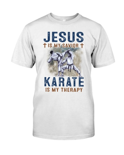 Jesus is my savior - Karate is my therapy