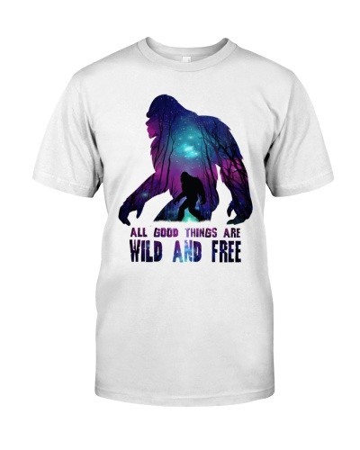 All good things are wild and freedom - Big sale