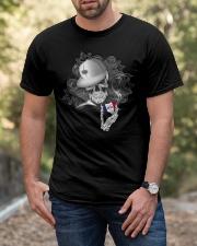 Skull heart Iowa 0037 Classic T-Shirt apparel-classic-tshirt-lifestyle-front-53