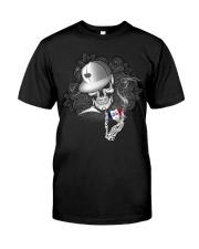 Skull heart Iowa 0037 Classic T-Shirt front