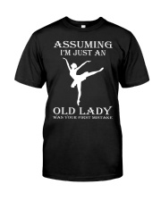 ballet assuming Classic T-Shirt thumbnail