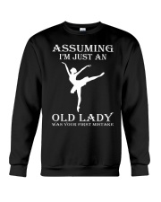 ballet assuming Crewneck Sweatshirt thumbnail