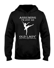 ballet assuming Hooded Sweatshirt front