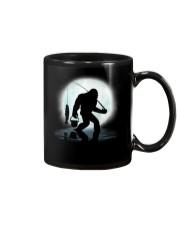 Bigfoot go fishing two side Mug thumbnail