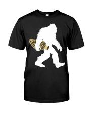 Bigfoot with Morel Mushroom Classic T-Shirt thumbnail