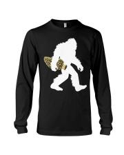 Bigfoot with Morel Mushroom Long Sleeve Tee thumbnail