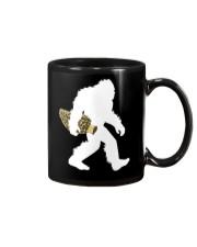 Bigfoot with Morel Mushroom Mug thumbnail