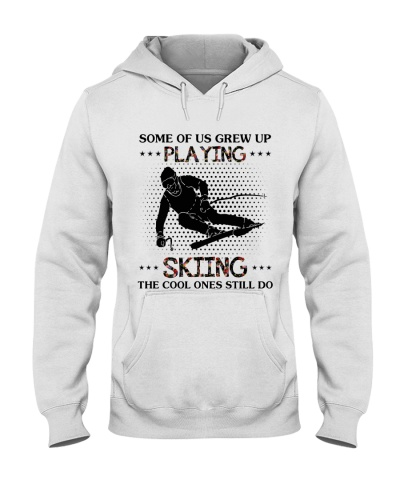 some of us grew up playing skiing