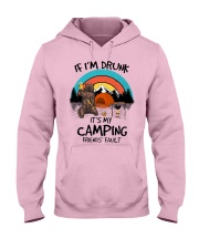 If I'm Druck - Go Camping Hooded Sweatshirt front