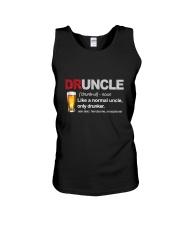 Druncle Definition Unisex Tank thumbnail