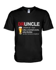 Druncle Definition V-Neck T-Shirt thumbnail