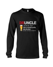 Druncle Definition Long Sleeve Tee thumbnail