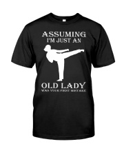 karate assuming Classic T-Shirt thumbnail