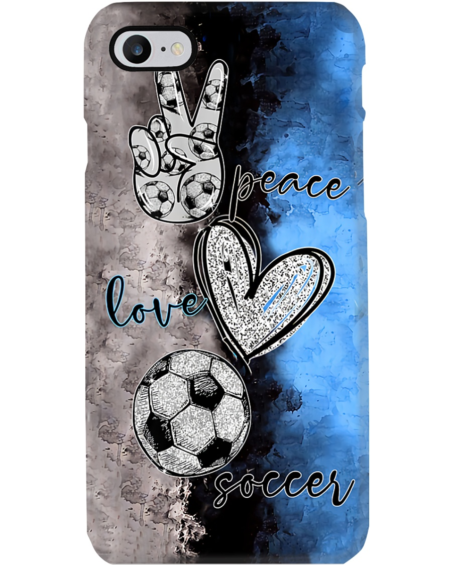 Peace - love - Soccer - phonecase Phone Case